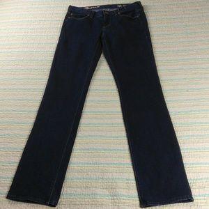 Madewell Rail Straight Jeans Dark Wash 28 X 34